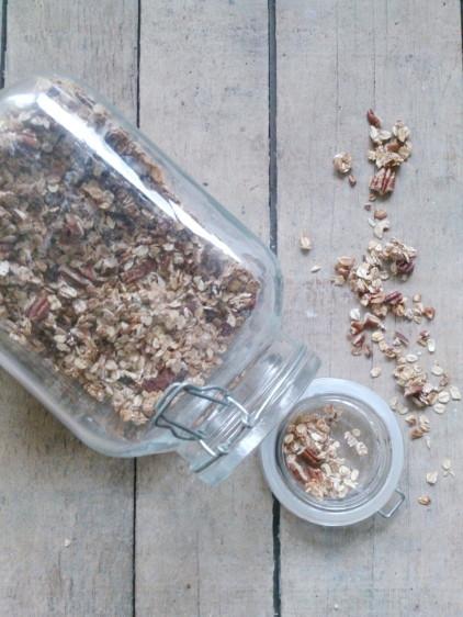 Granola met pecannoten
