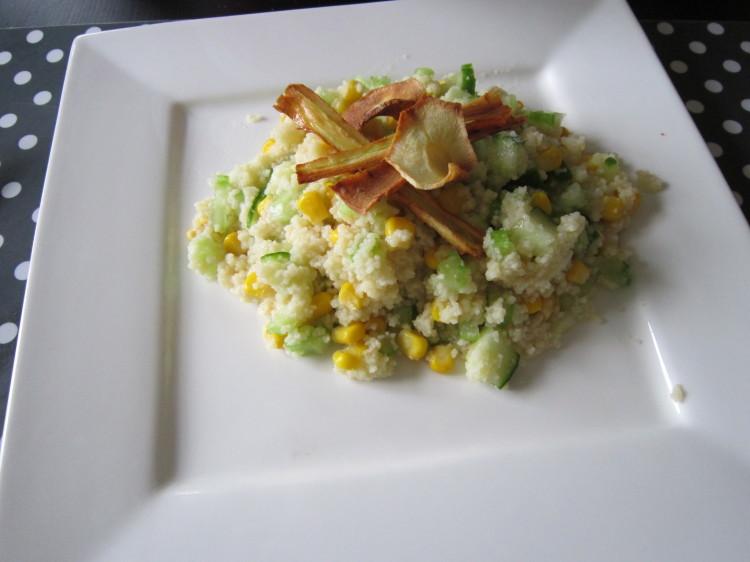 lauwwarme couscous