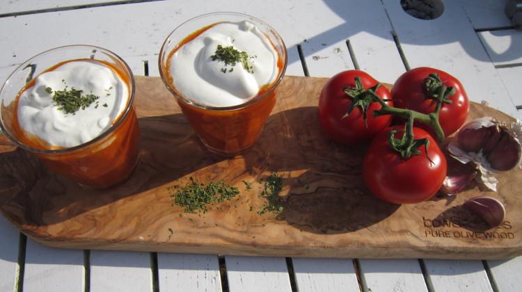 Tomatencappuccino