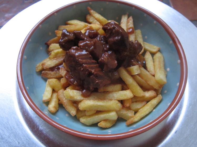 Belgisch stoofvlees met frites